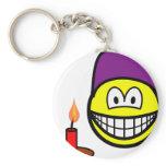 Dopey smile Seven Dwarves  keychains