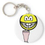 Milkshake smile   keychains