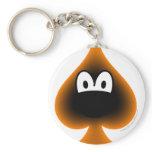 Spades emoticon   keychains