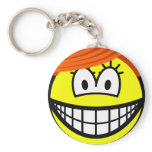 Miranda smile Sex and the City  keychains