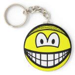Hairnet smile   keychains