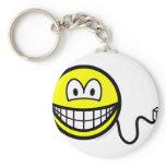 Unplugged smile   keychains