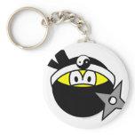 Ninja smile Black  keychains