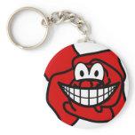 Rose smile   keychains