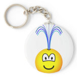 Fountain emoticon   keychains