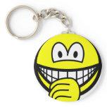 Thumb sucking smile   keychains