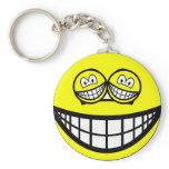 Smile eyed smile   keychains