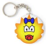 Simpson emoticon Maggie  keychains