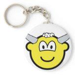 Bull buddy icon   keychains