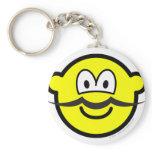 Mustache buddy icon   keychains