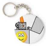 Lighter emoticon   keychains