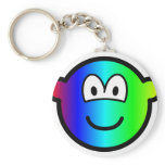 Rainbow buddy icon Colours  keychains