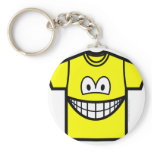 T-shirt smile   keychains