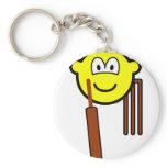 Cricket buddy icon   keychains