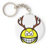 Deer smile   keychains