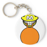Space hopping smile   keychains