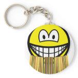Grass skirt smile   keychains