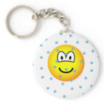 In the snow emoticon   keychains
