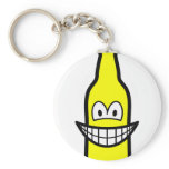 Bottle smile   keychains