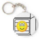 In fridge emoticon   keychains