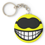 Sleeping mask smile   keychains