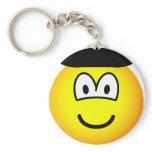 Baret emoticon   keychains