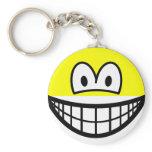 Half smile top  keychains