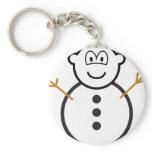Snowman buddy icon   keychains