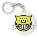 Cat smile   keychains