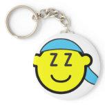 Sleeping cap buddy icon   keychains
