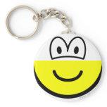 Half buddy icon bottom  keychains