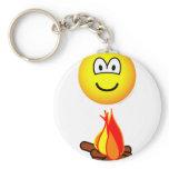 Campfire emoticon   keychains