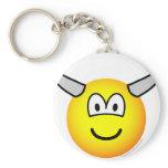 Horny emoticon   keychains