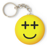 Not with the program emoticon   keychains