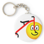 Tricycle emoticon   keychains