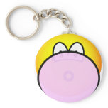 Bubble gum emoticon   keychains