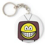 TV smile   keychains