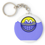 Flooded smile   keychains