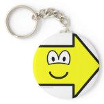 Right buddy icon arrow  keychains