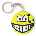 Bowlingball smile   keychains
