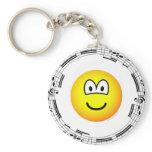 Musical emoticon   keychains