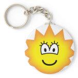 Simpson emoticon Lisa  keychains