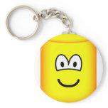 Cylinder emoticon   keychains