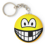 Missing tooth emoticon   keychains