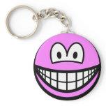 Kirby smile   keychains