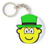 Green hat buddy icon Six Thinking Hats - Creative Lateral Thinking  keychains