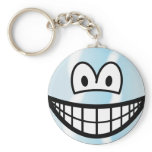 Cool smile   keychains
