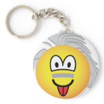 Einstein emoticon   keychains