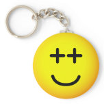 Out-of-it emoticon   keychains