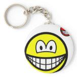 Devil on shoulder smile   keychains